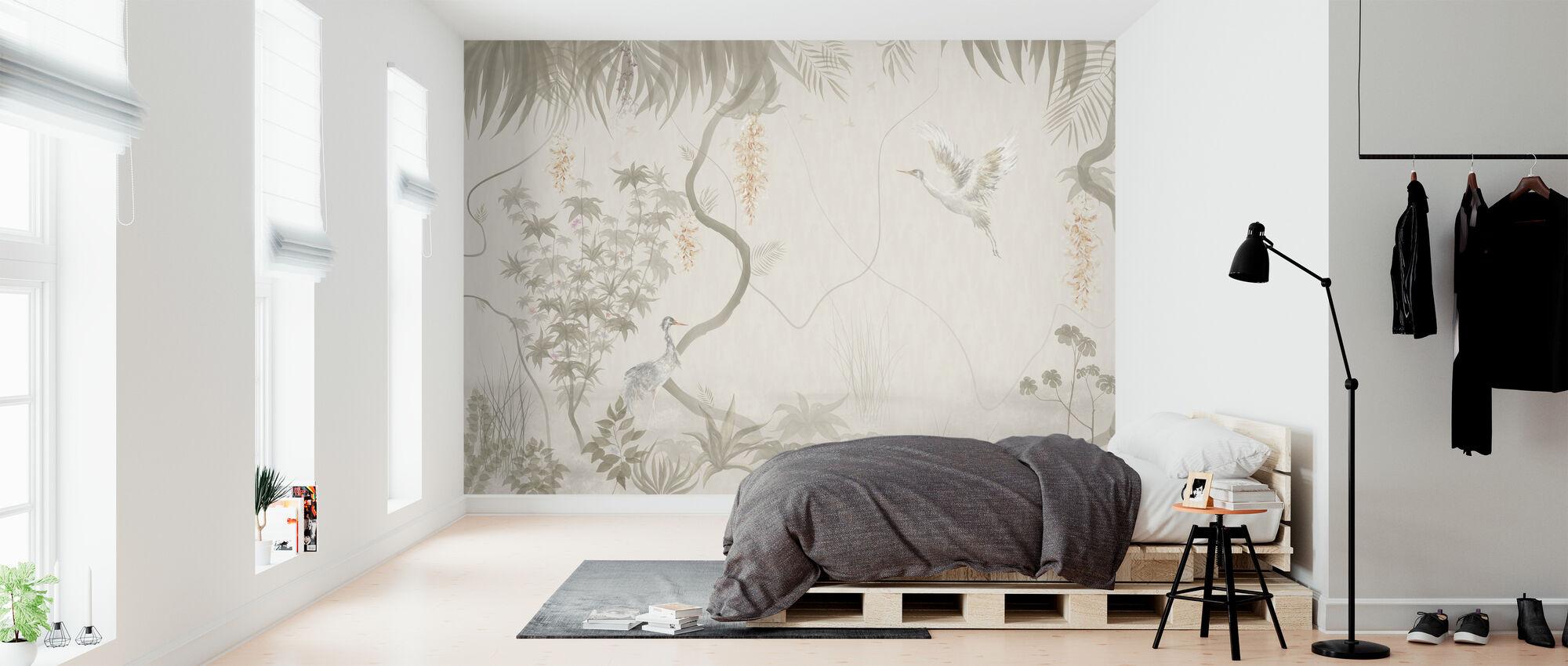Tranquil Scenery - Beige - Wallpaper - Bedroom