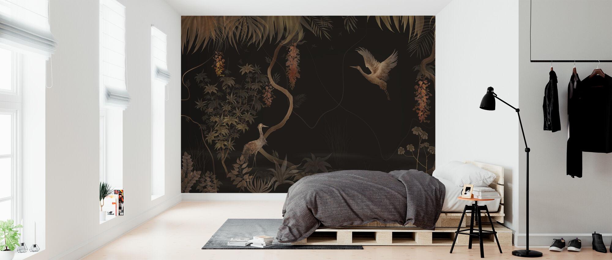 Tranquil Scenery - Dark Hazel - Wallpaper - Bedroom