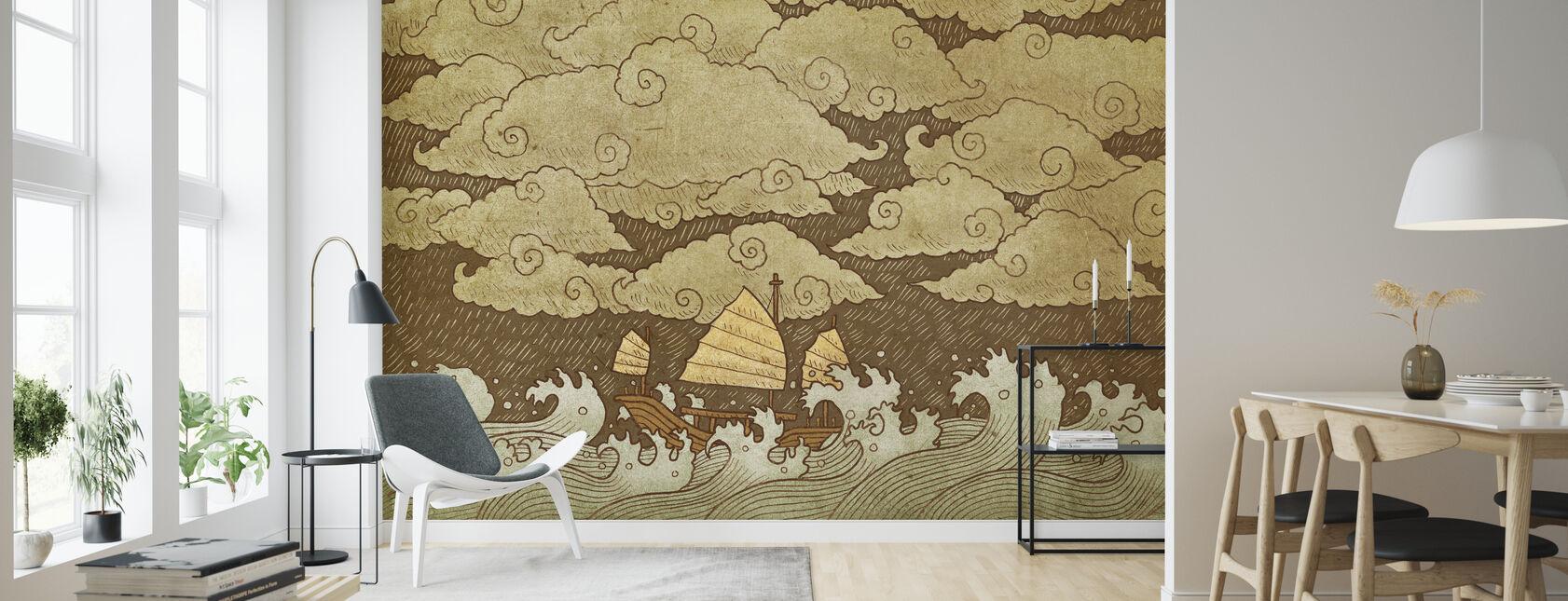 Tempestad - Papel pintado - Salón