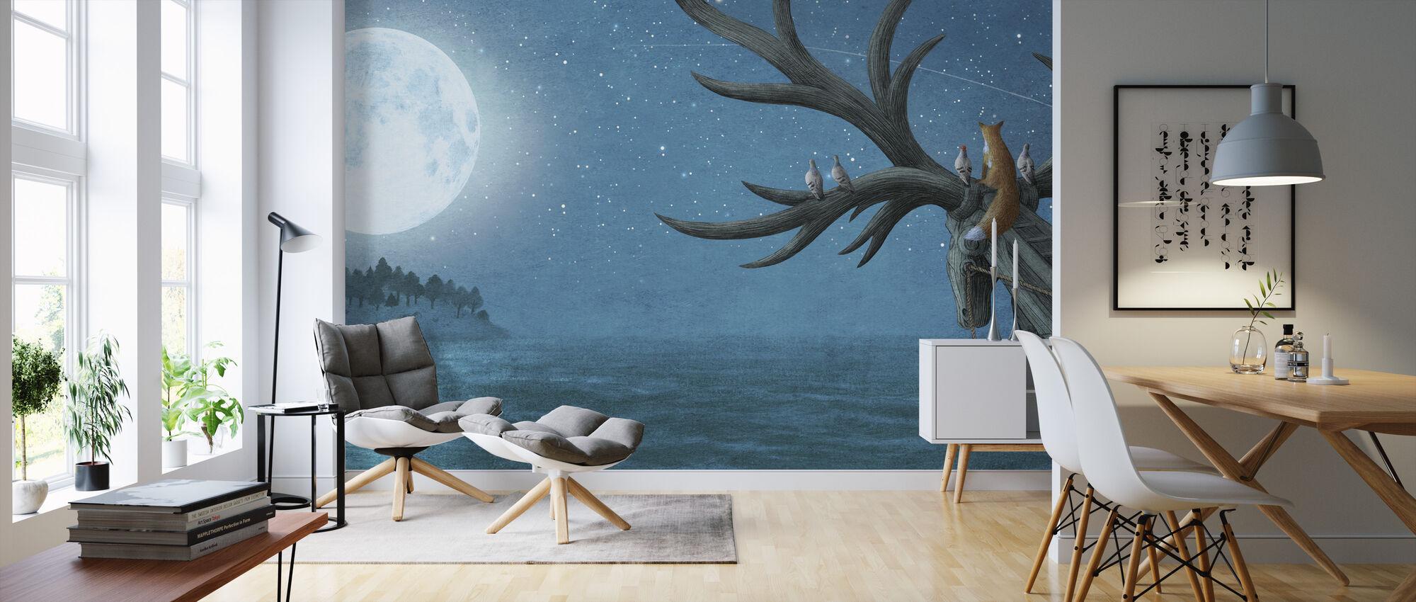 Antlered Ship Island Sighting - Wallpaper - Living Room