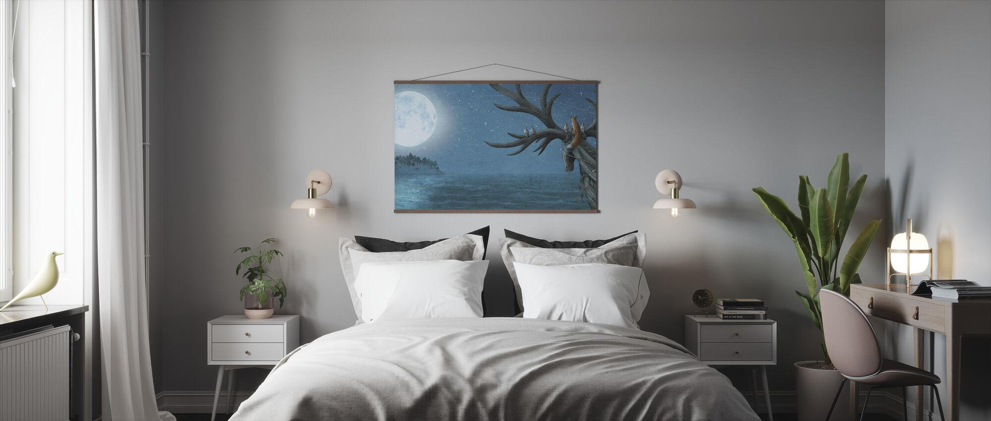 Antlered Ship Island Sighting - Poster - Bedroom