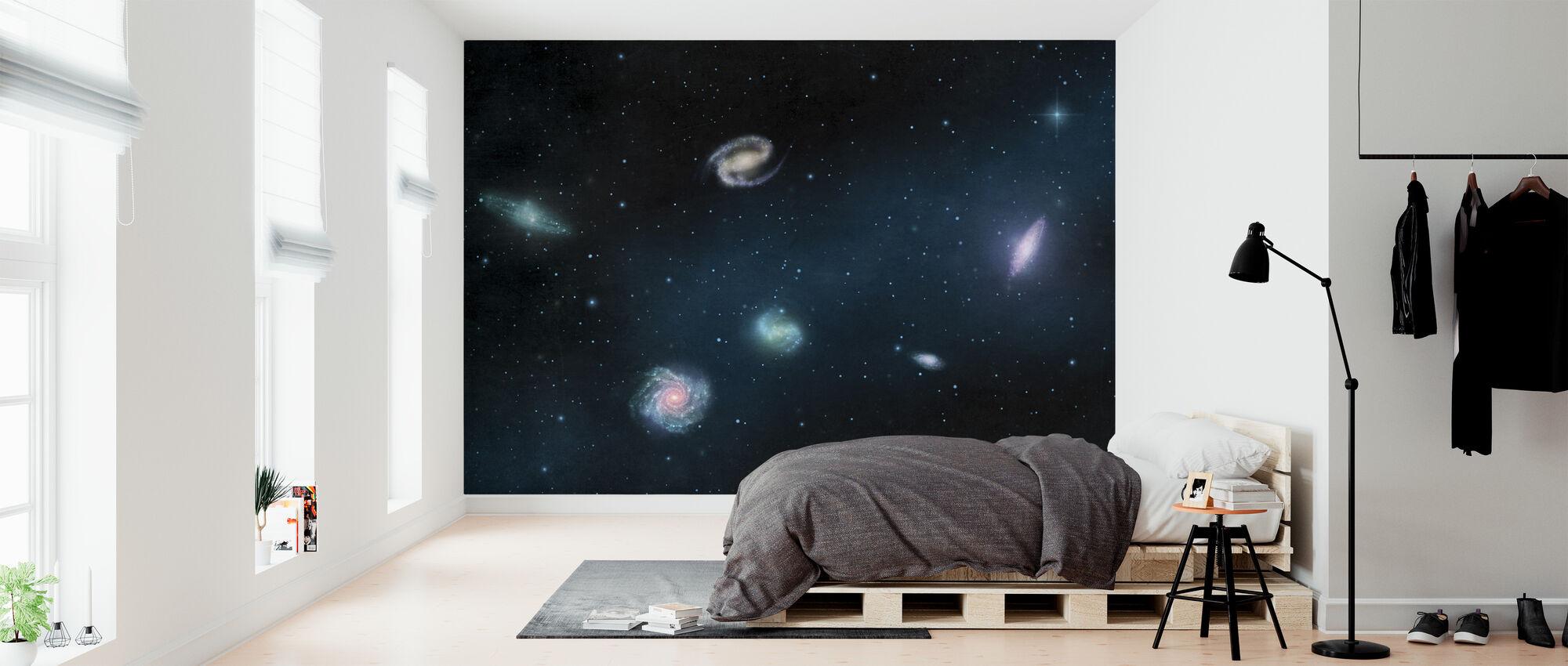 Darkest Dark - Galaxies - Wallpaper - Bedroom