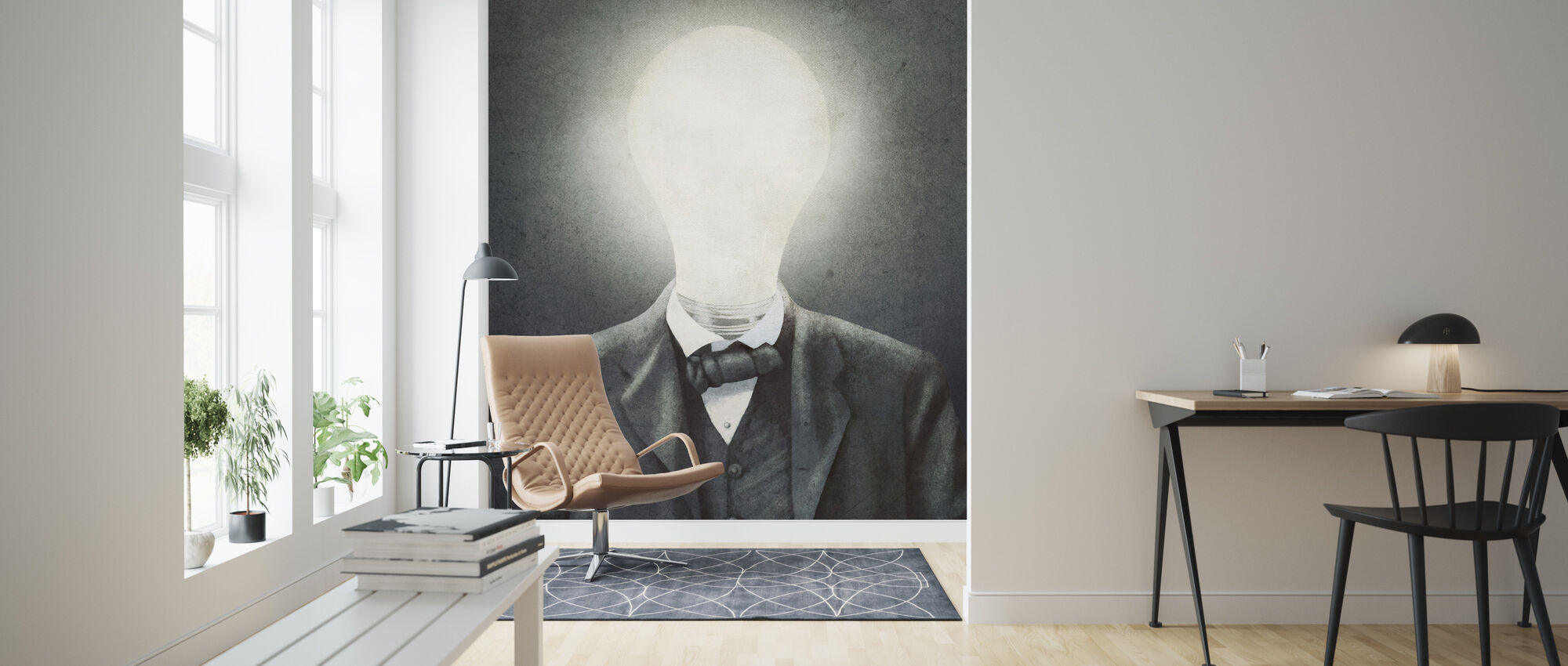 Idé Man - Tapet - Vardagsrum