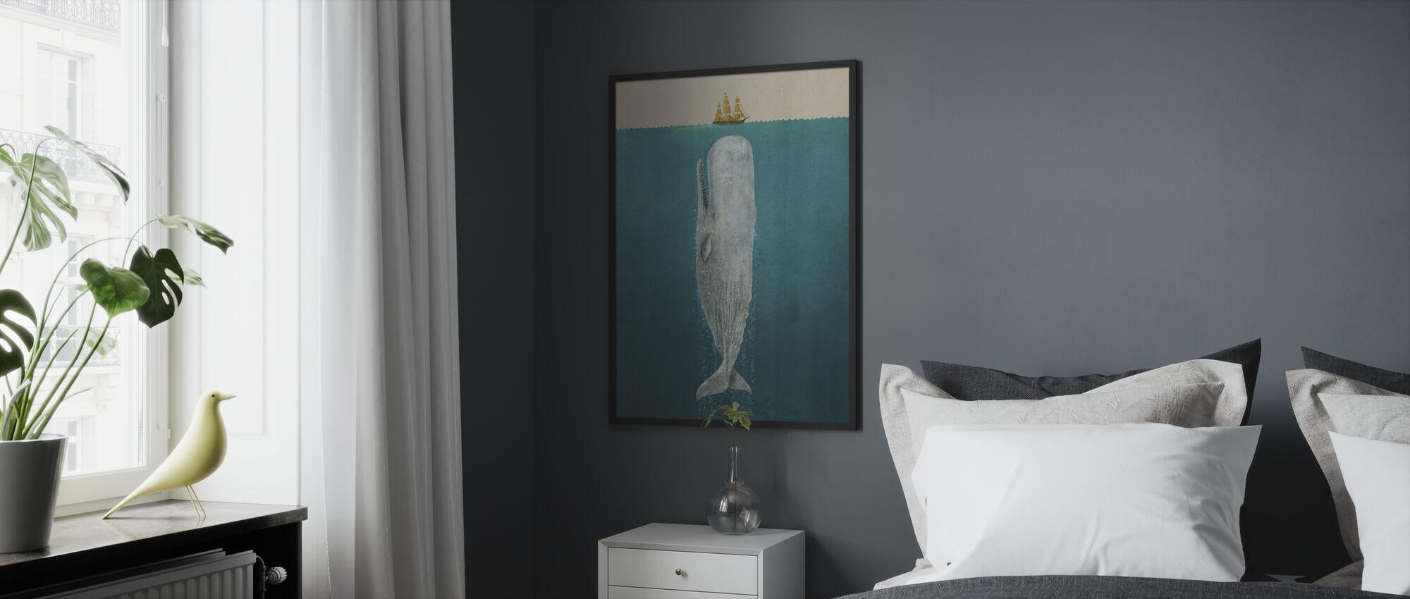 Valas - Kehystetty kuva - Makuuhuone