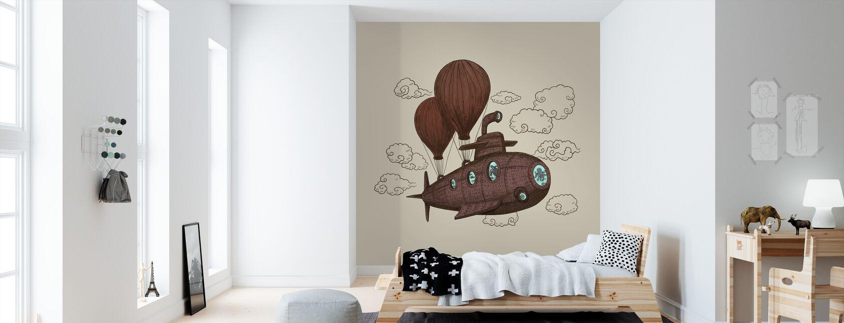 Voyage fantastique - Papier peint - Chambre des enfants