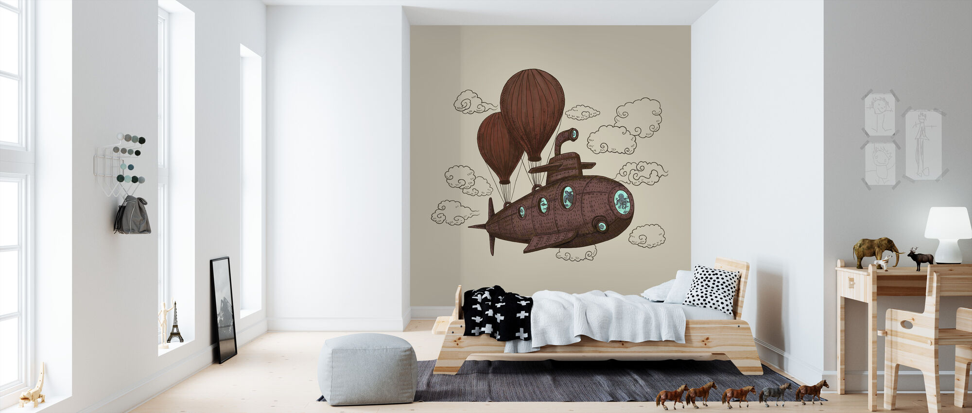 Fantastic Voyage - Wallpaper - Kids Room