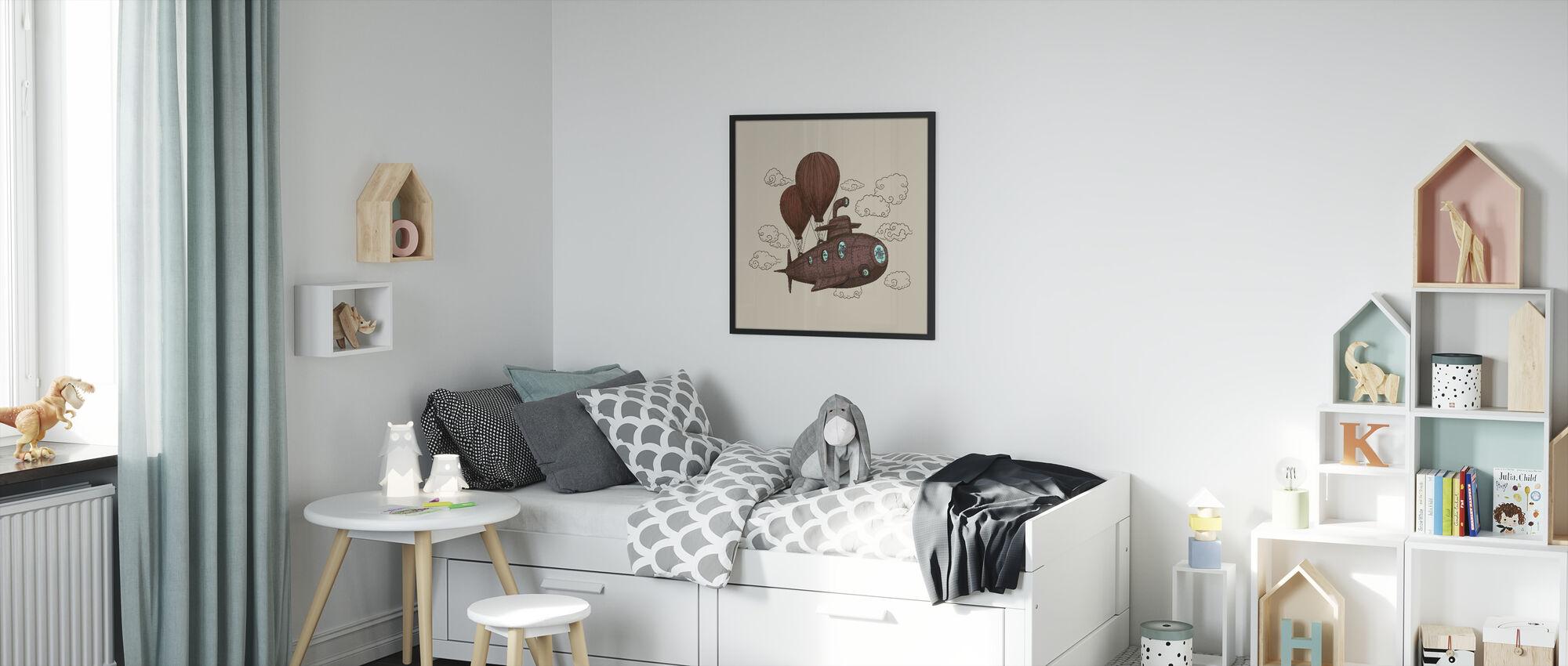 Fantastic Voyage - Framed print - Kids Room
