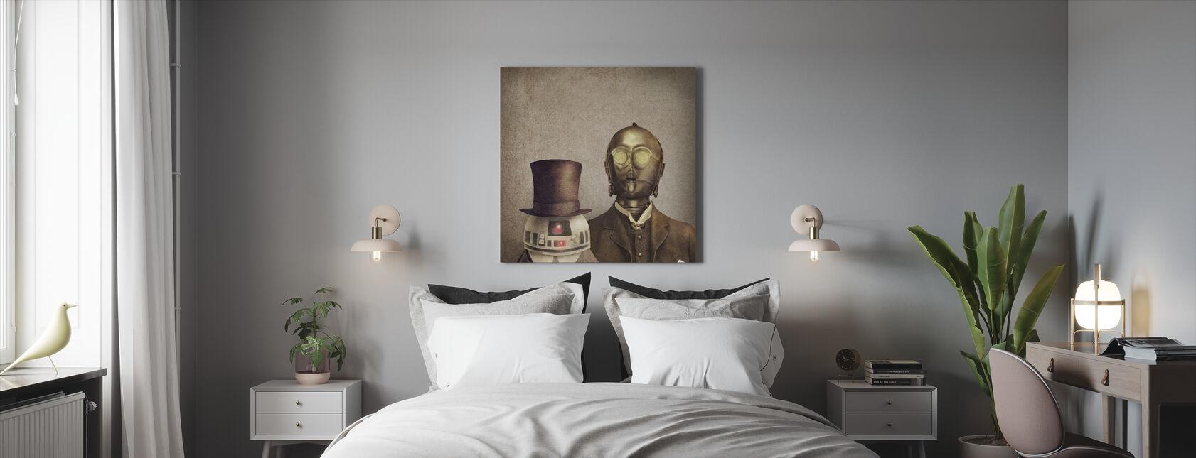 Victorian Robots - Canvas print - Bedroom