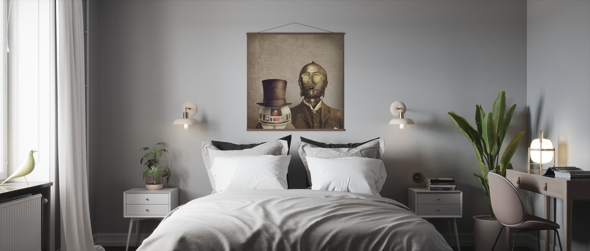 Victorian Robots - Poster - Bedroom