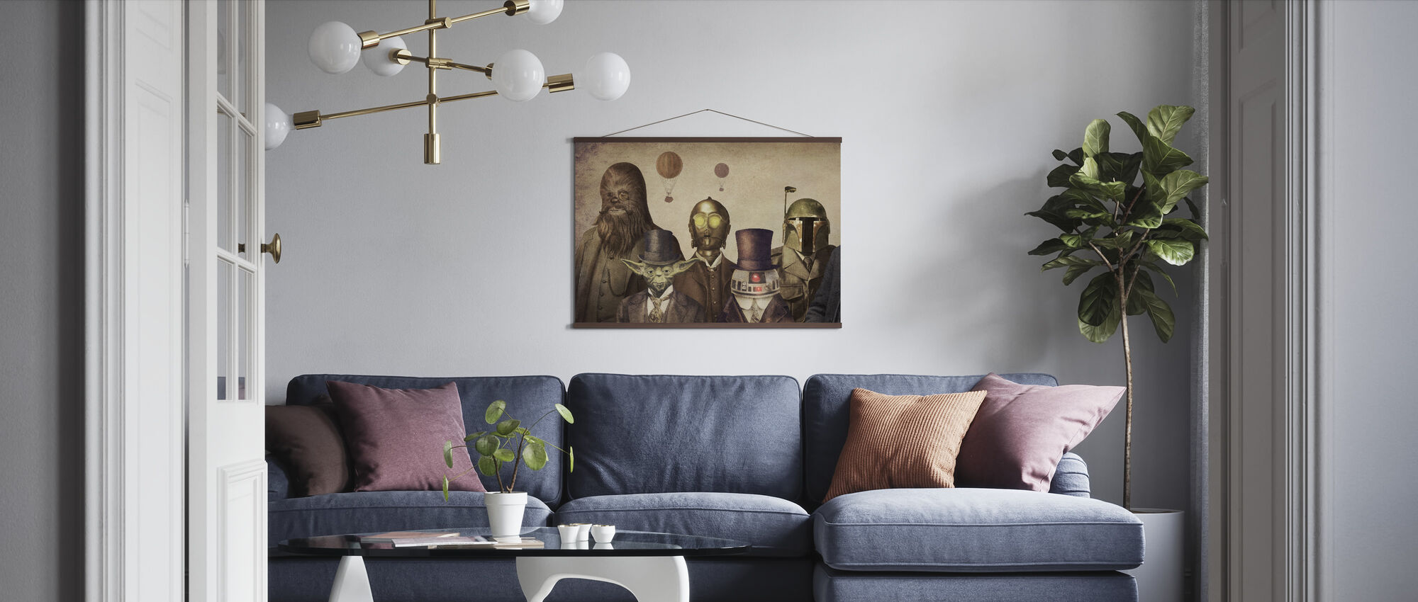 Victorian Wars - Poster - Living Room
