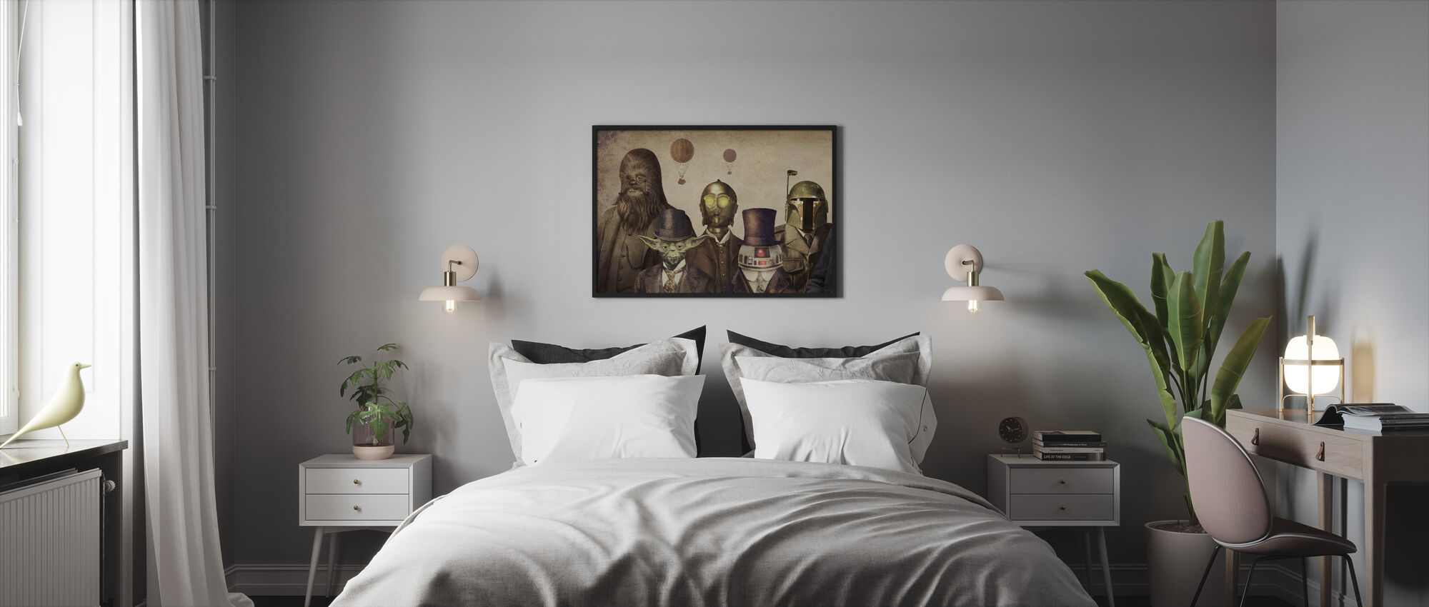 Victorian Wars - Framed print - Bedroom