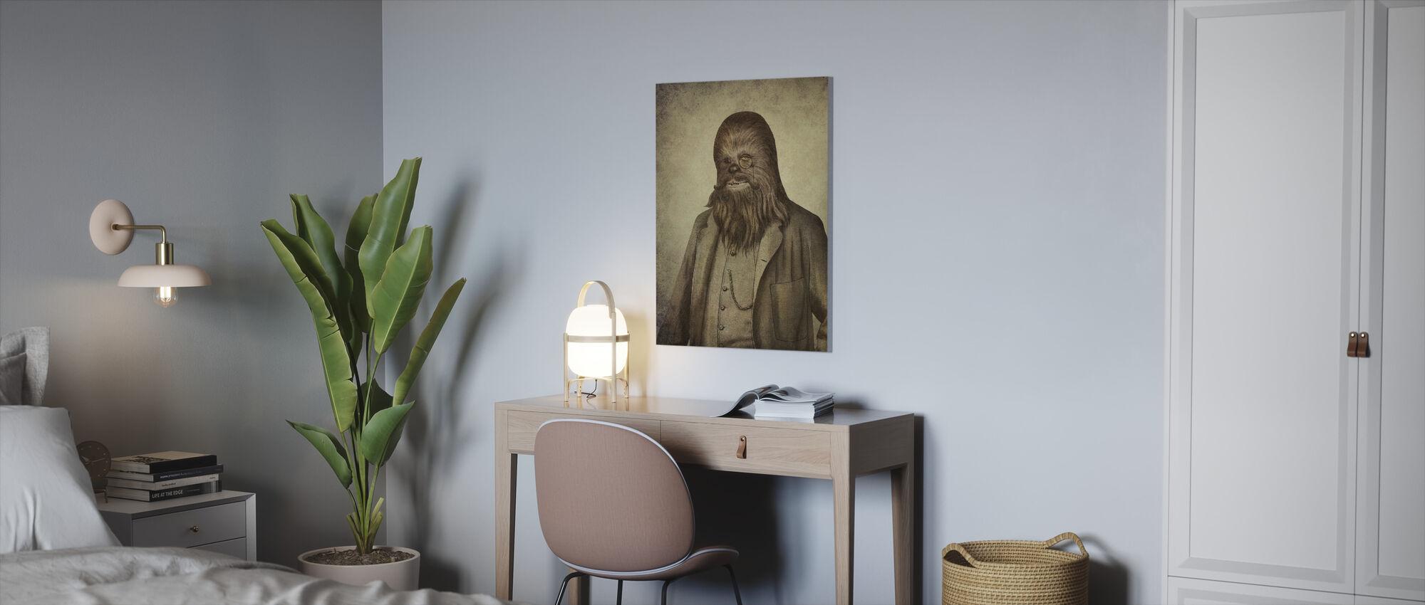 Victorian Wars Chancellor Chewman - Canvas print - Office