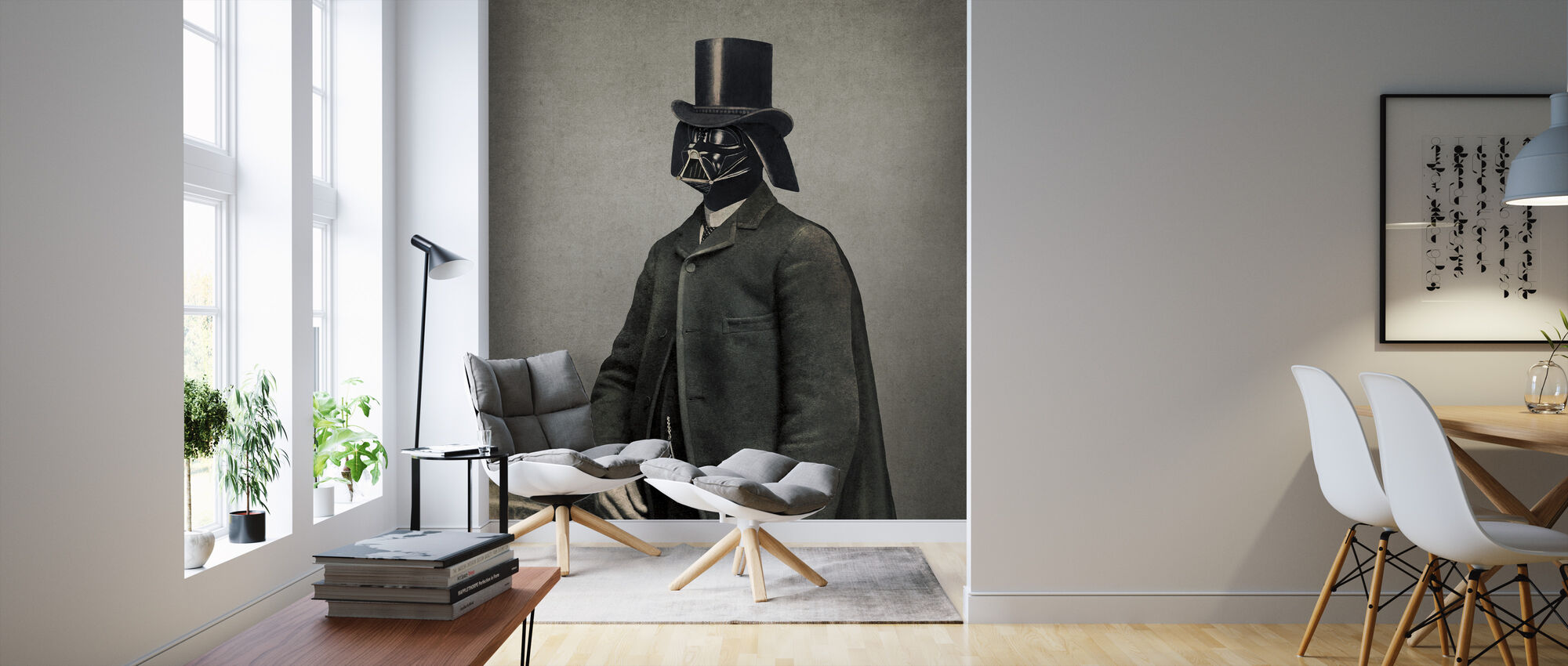 Victorian Wars Lord Vadersworth - Wallpaper - Living Room