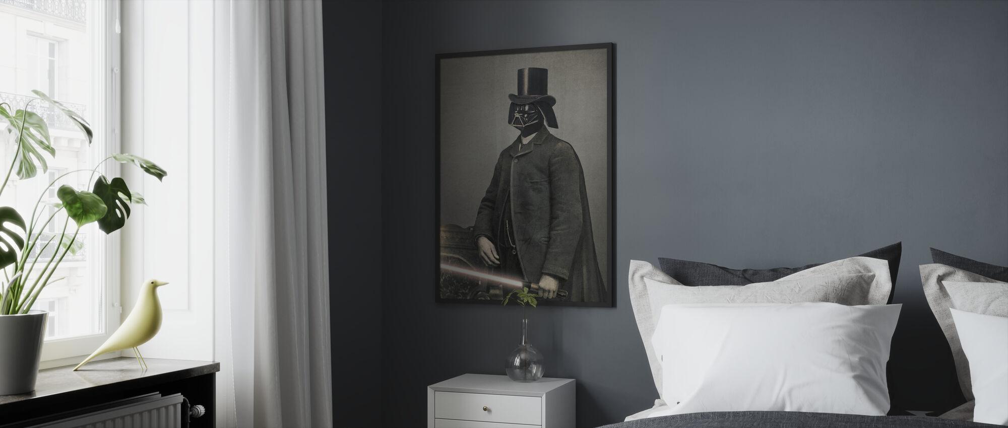 Victorian Wars Lord Vadersworth - Framed print - Bedroom
