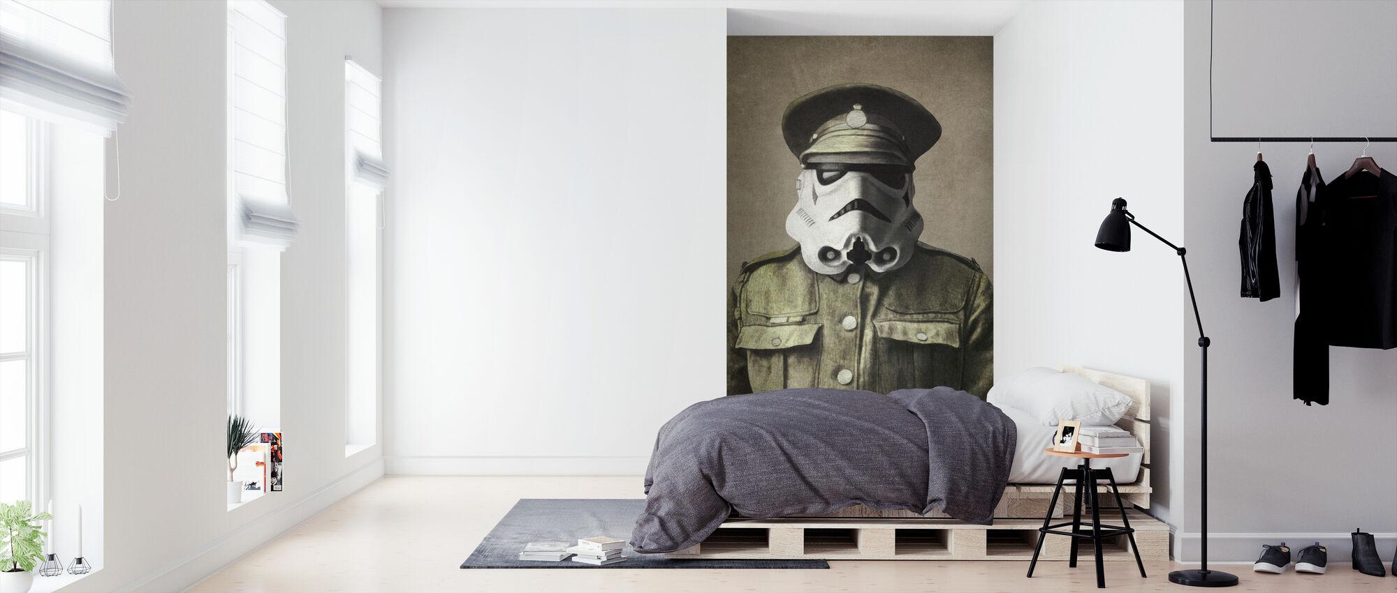 Victoriaanse oorlogen sergeant Stormley - Behang - Slaapkamer