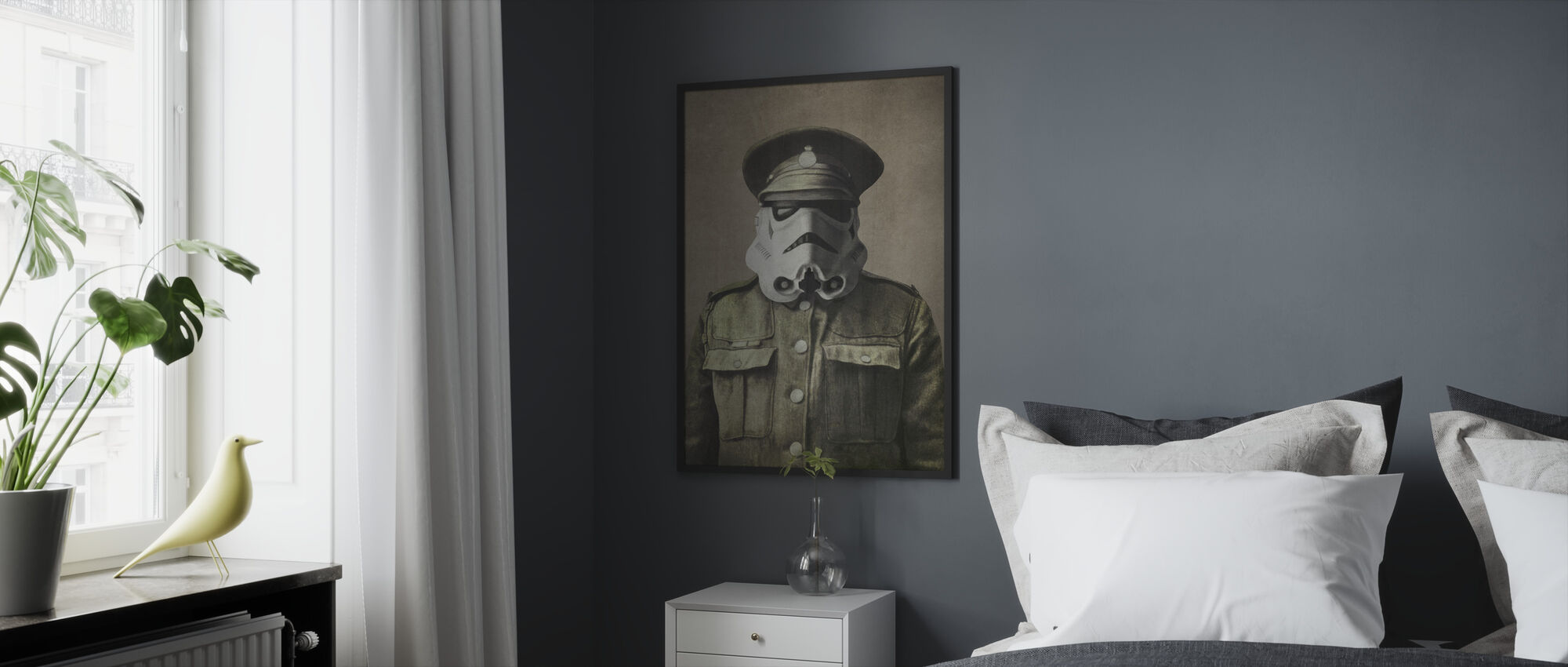Victorian Wars Sgt. Stormley - Framed print - Bedroom