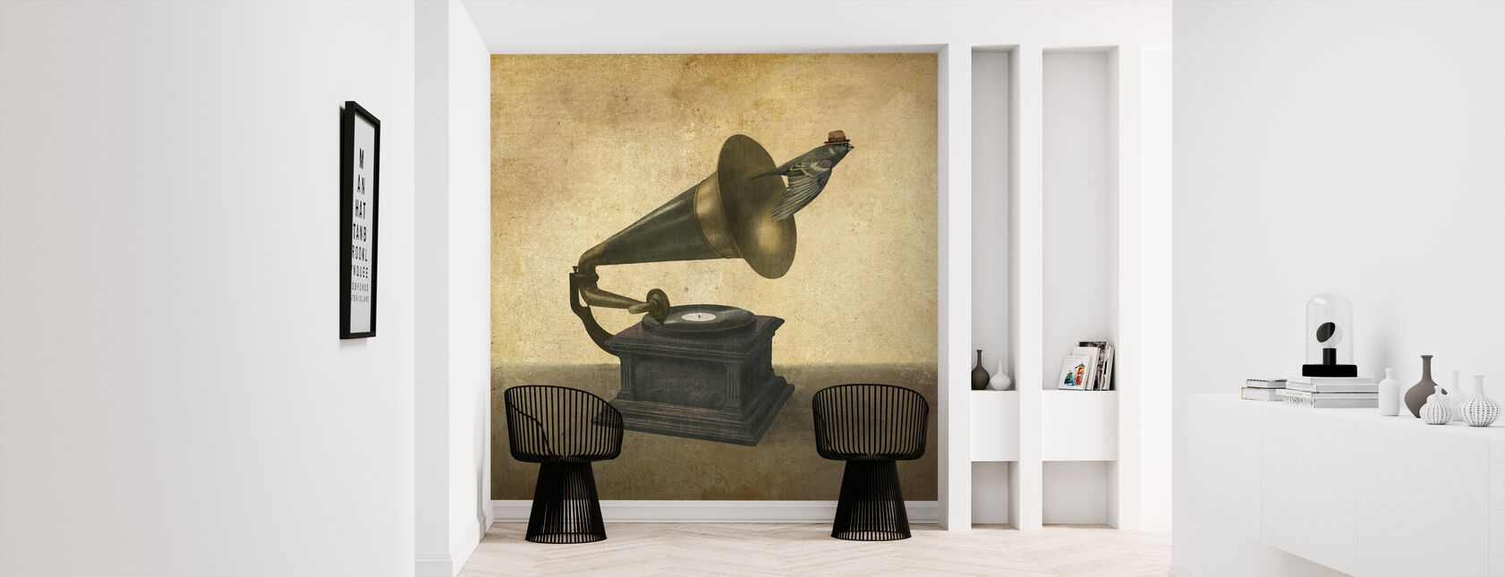 Vintage Songbird - Wallpaper - Hallway