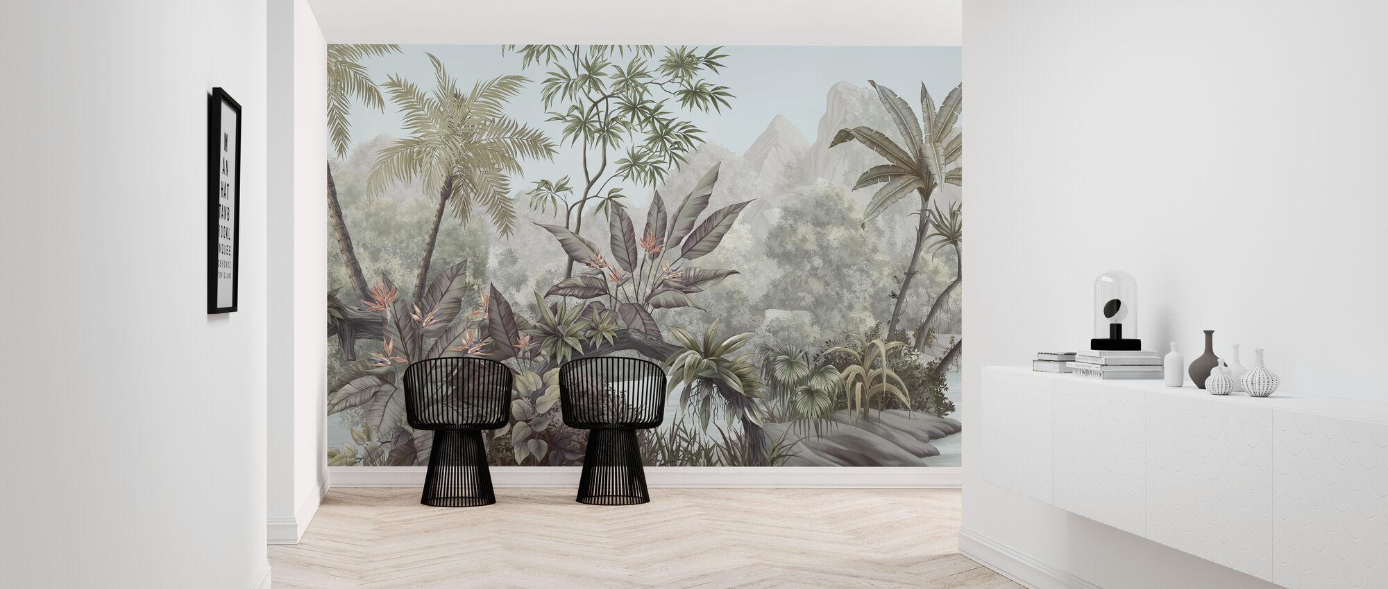 Tangled Jungle - Wallpaper - Hallway