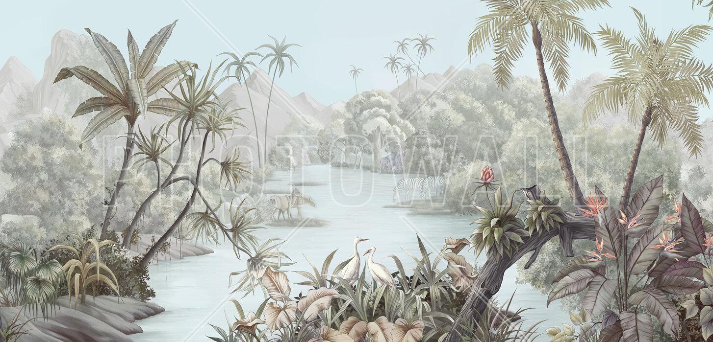 Tangled Jungle Ii Made To Measure Wall Mural Photowall