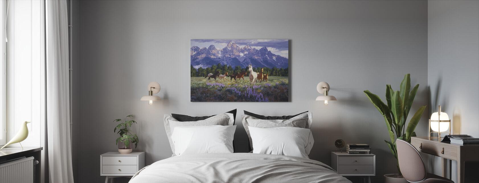 Morning Fresh - Canvas print - Bedroom