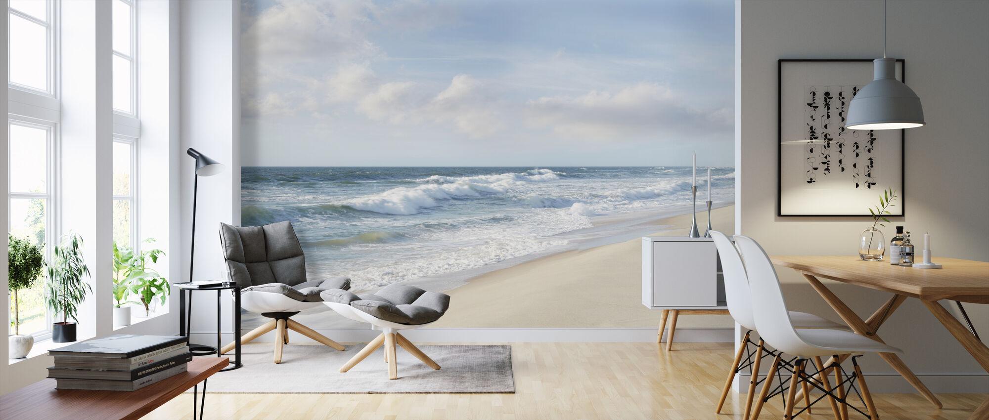 Hamptons II - Wallpaper - Living Room