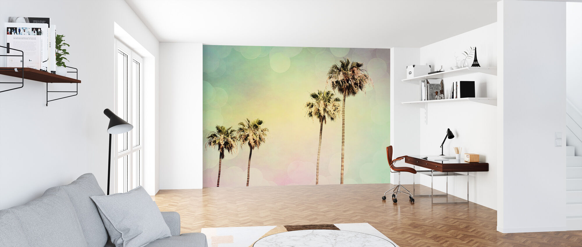 Palm Trees II - Wallpaper - Office