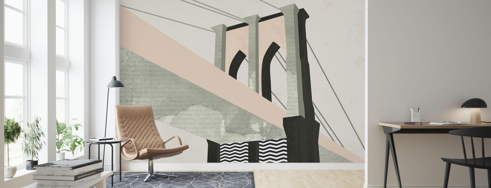 Graphic New York - Wallpaper - Living Room