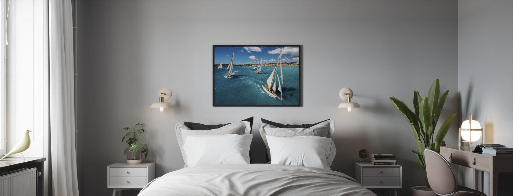 Inicio de carrera - Print enmarcado - Dormitorio