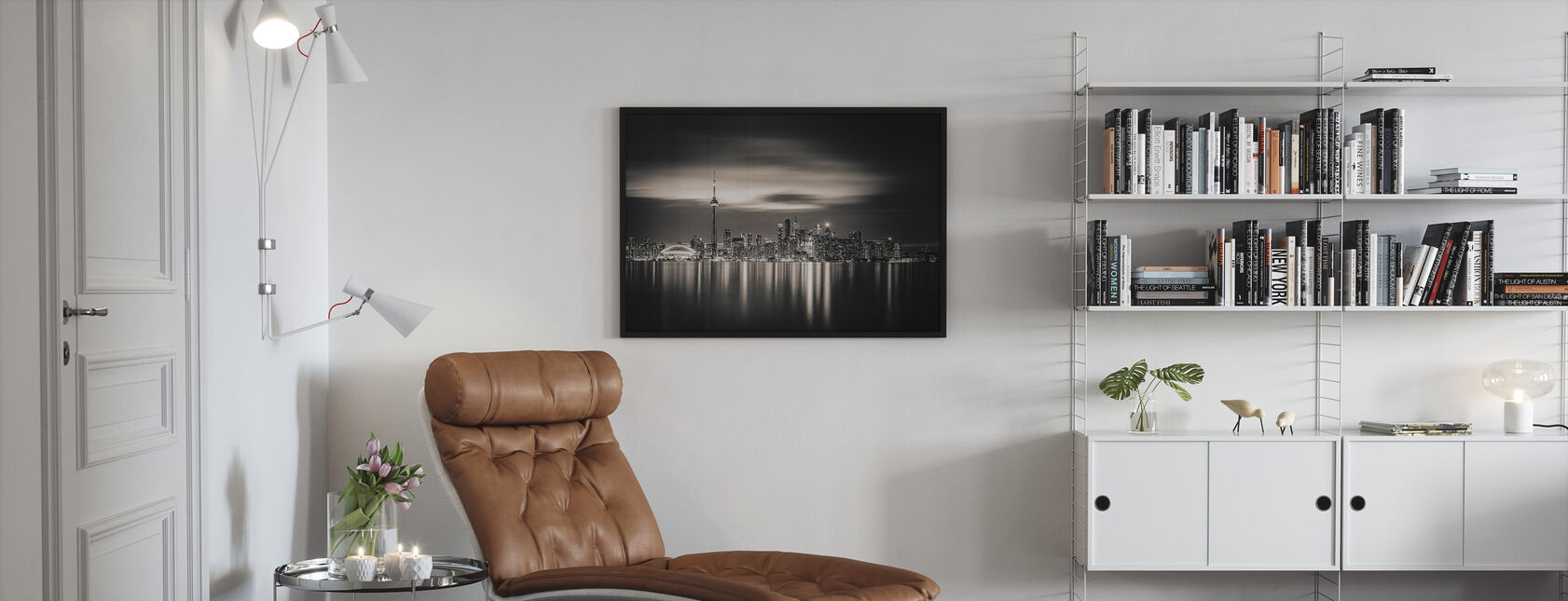 Toronto - Framed print - Living Room