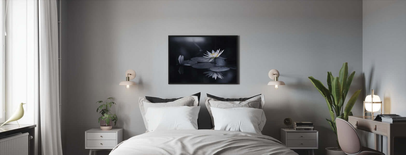 Reflection - Framed print - Bedroom