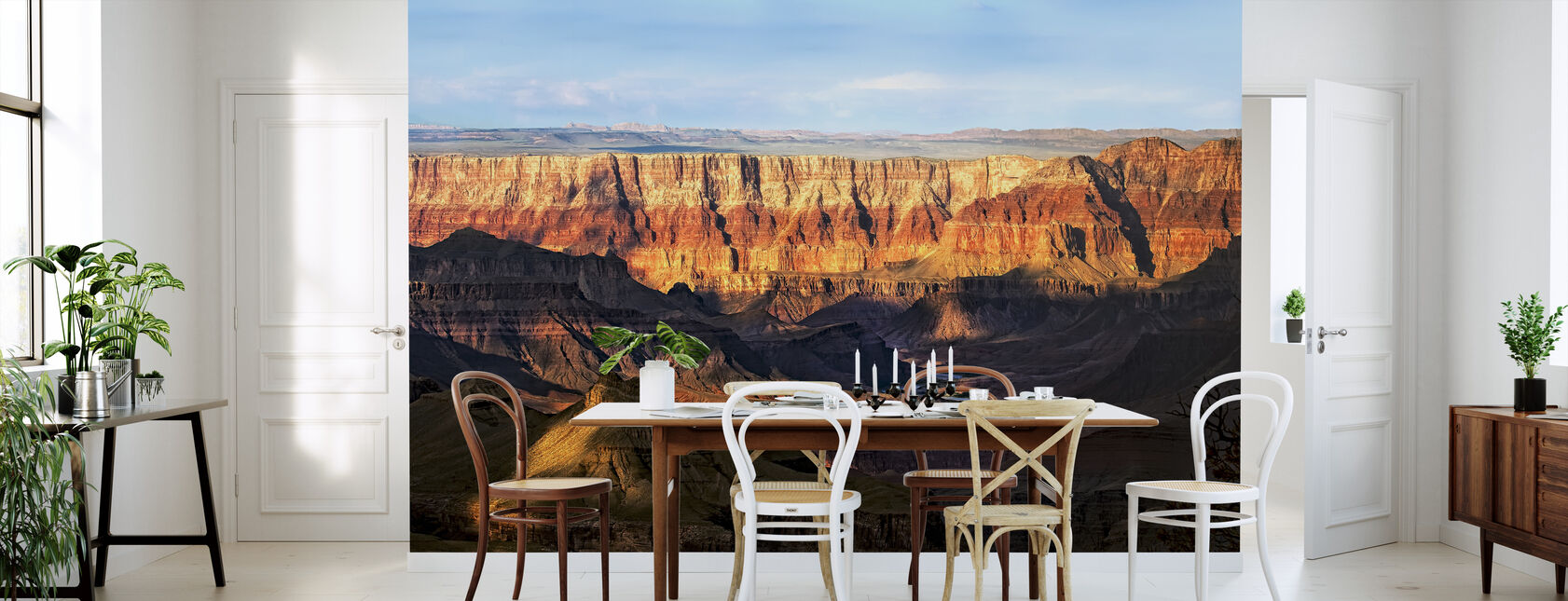 Canyon View - Wallpaper - Kitchen