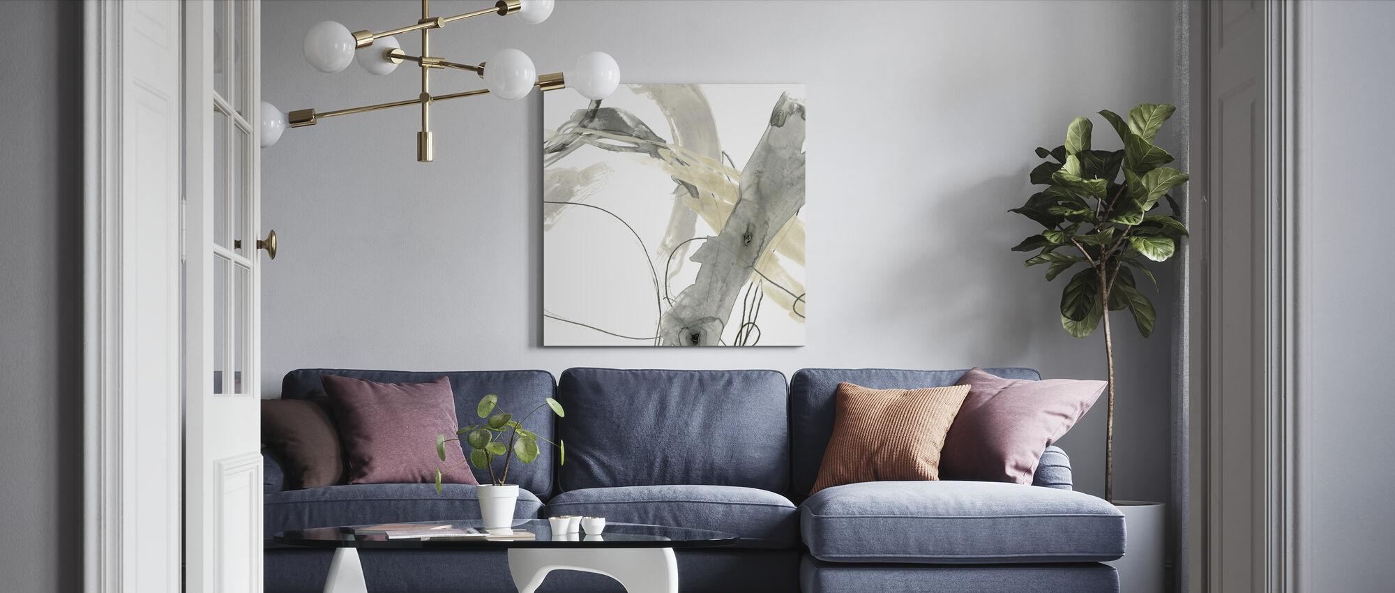 Monochrome Momentum - Canvas print - Living Room