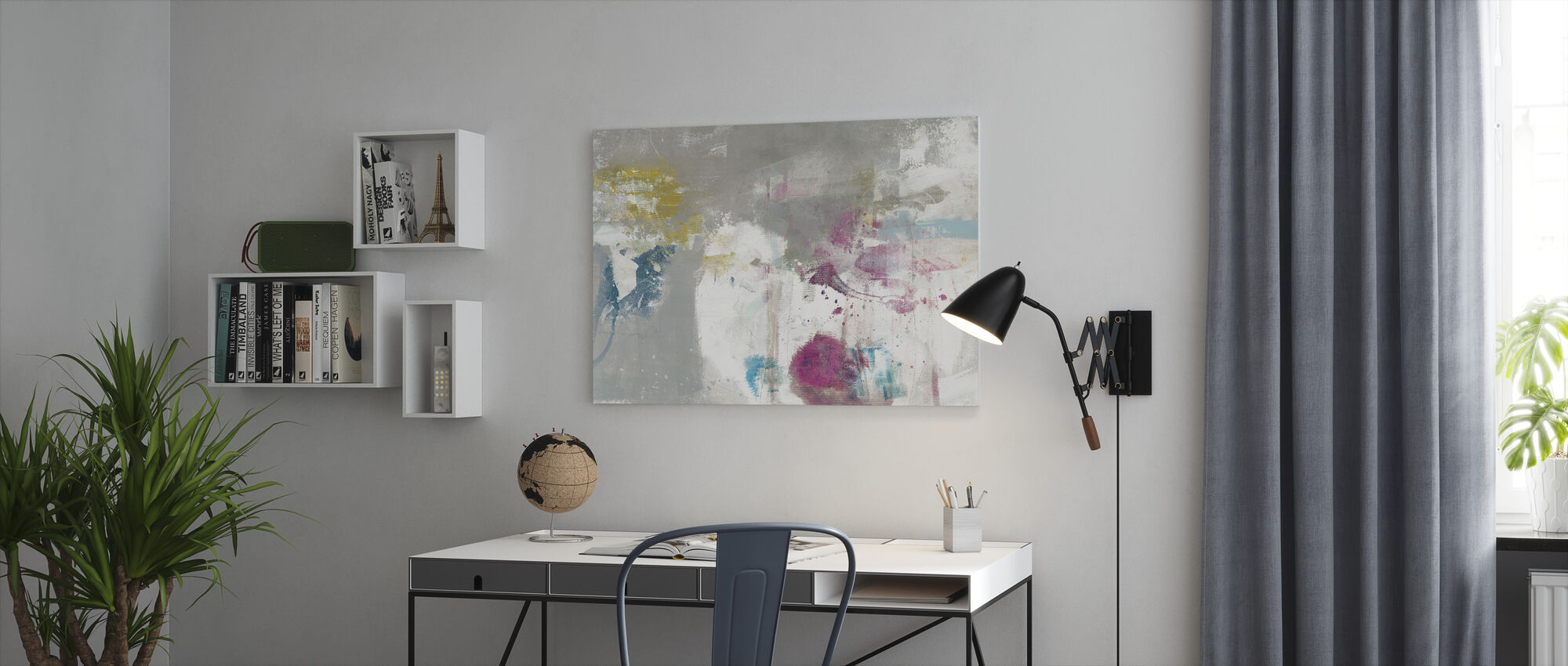 Minute - Canvas print - Office