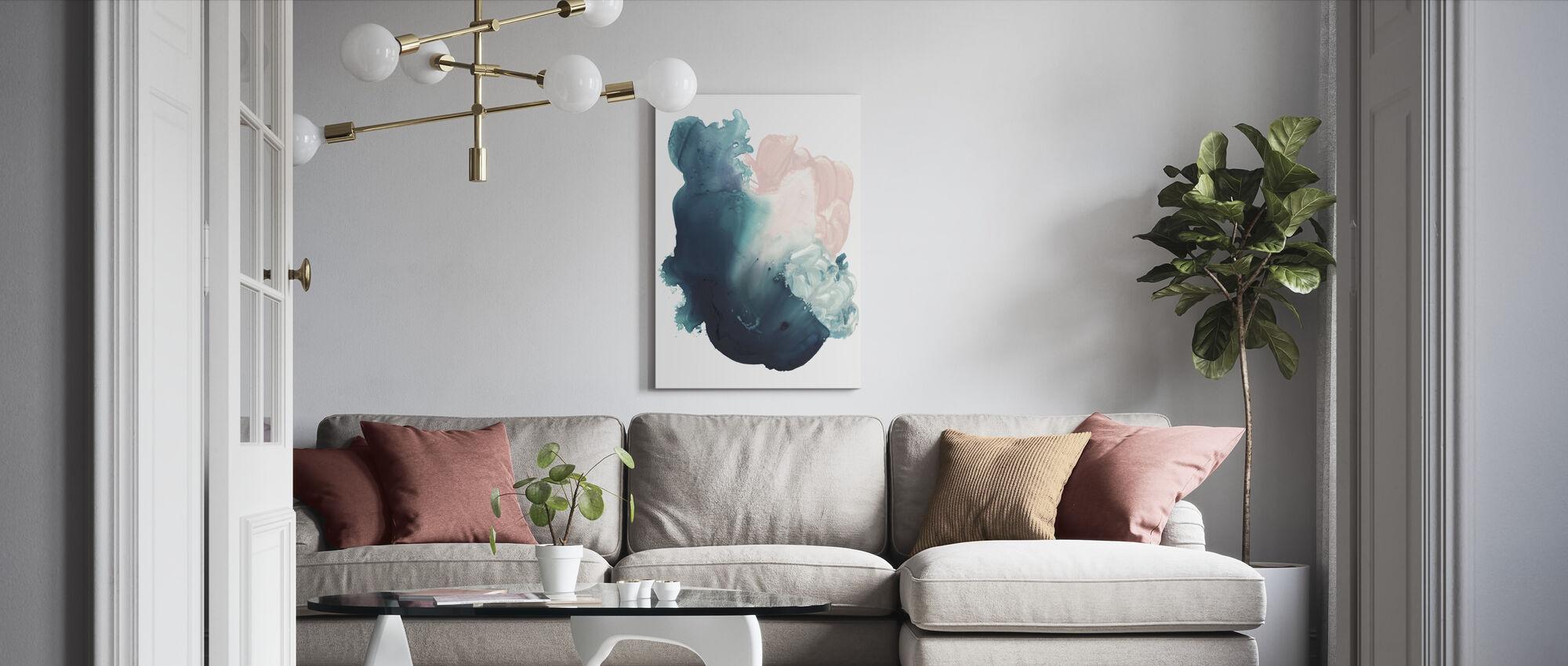 Plunge - Canvas print - Living Room