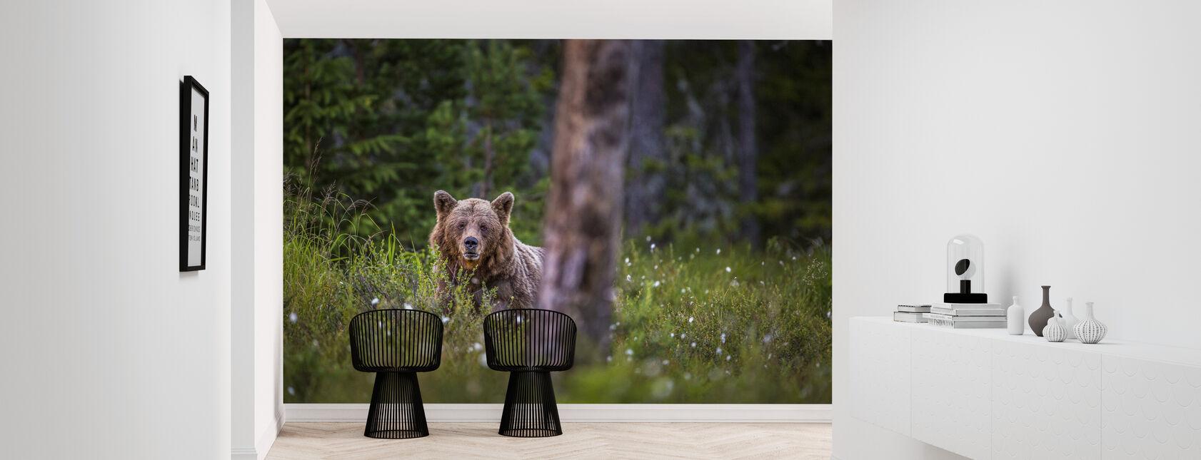 Bear Forest - Wallpaper - Hallway