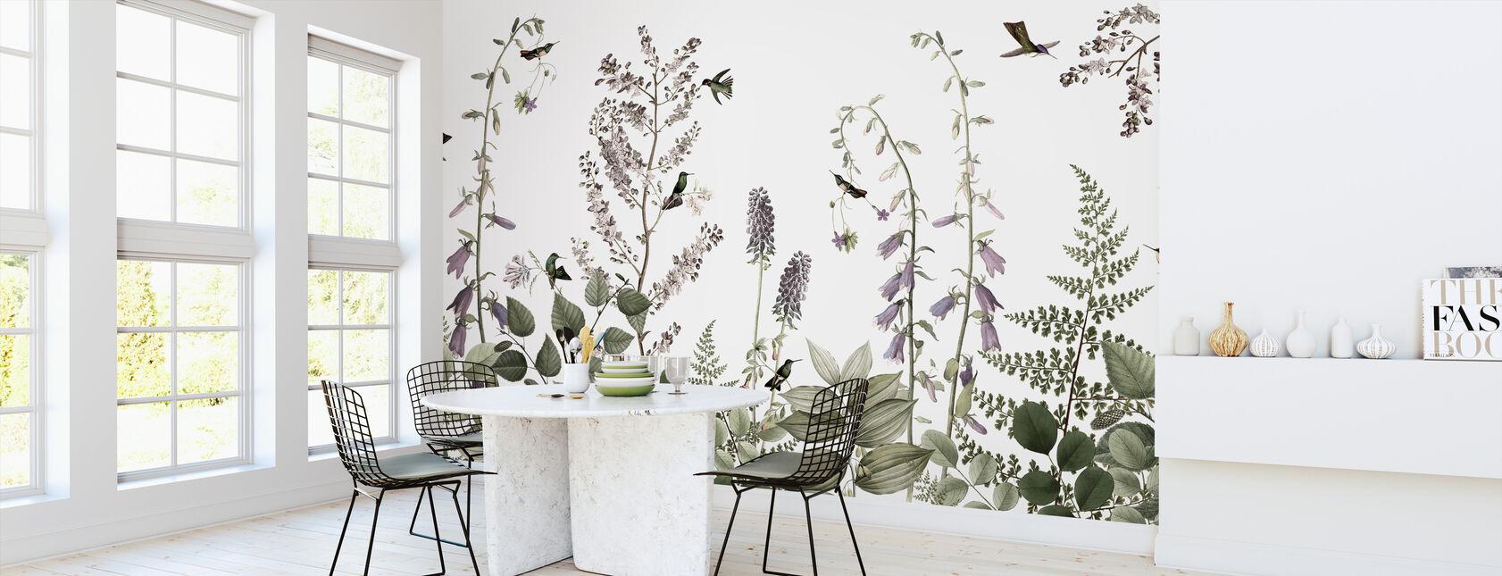 Haie de colibri - Papier peint - Cuisine