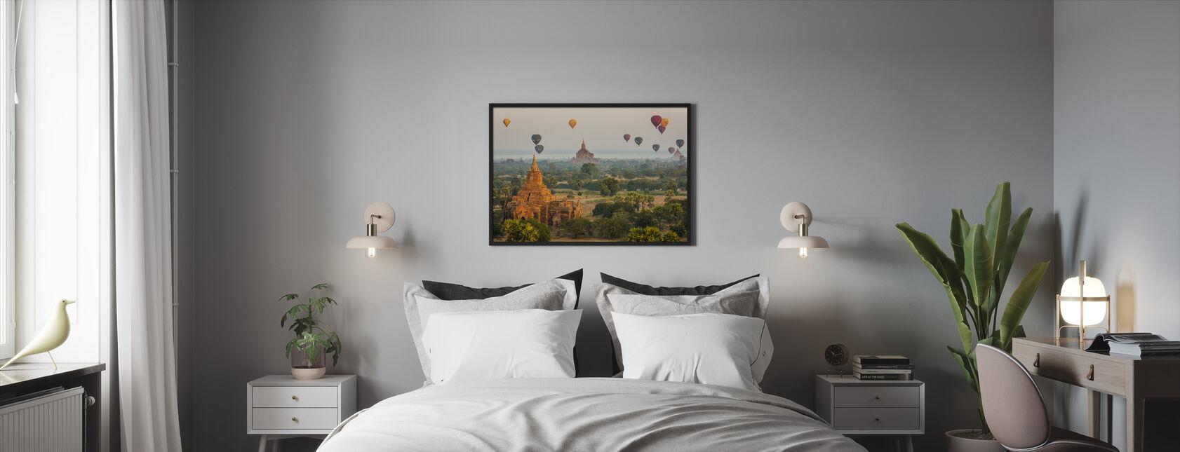 Ballons Bagan - Impression encadree - Chambre
