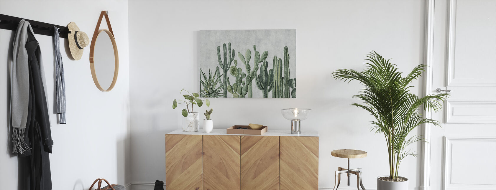 Atacama Cactus - Canvas print - Hallway