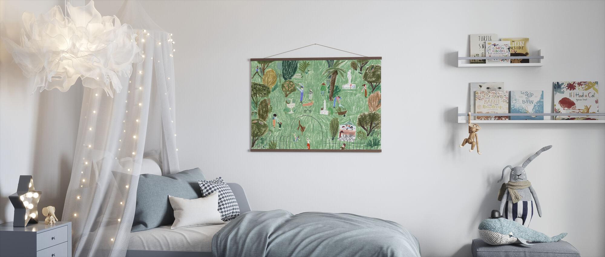 Rosie Runs - Poster - Kids Room