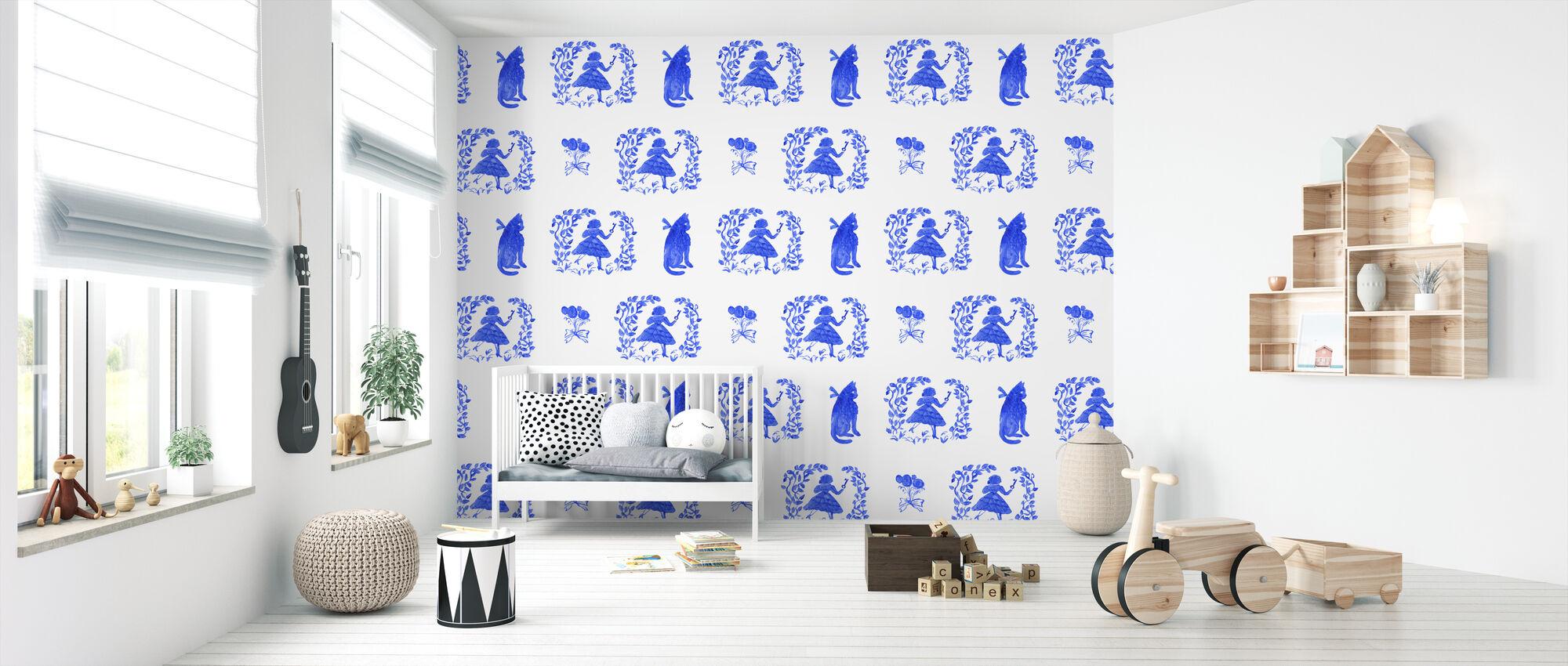 Hurry Alice - Wallpaper - Nursery