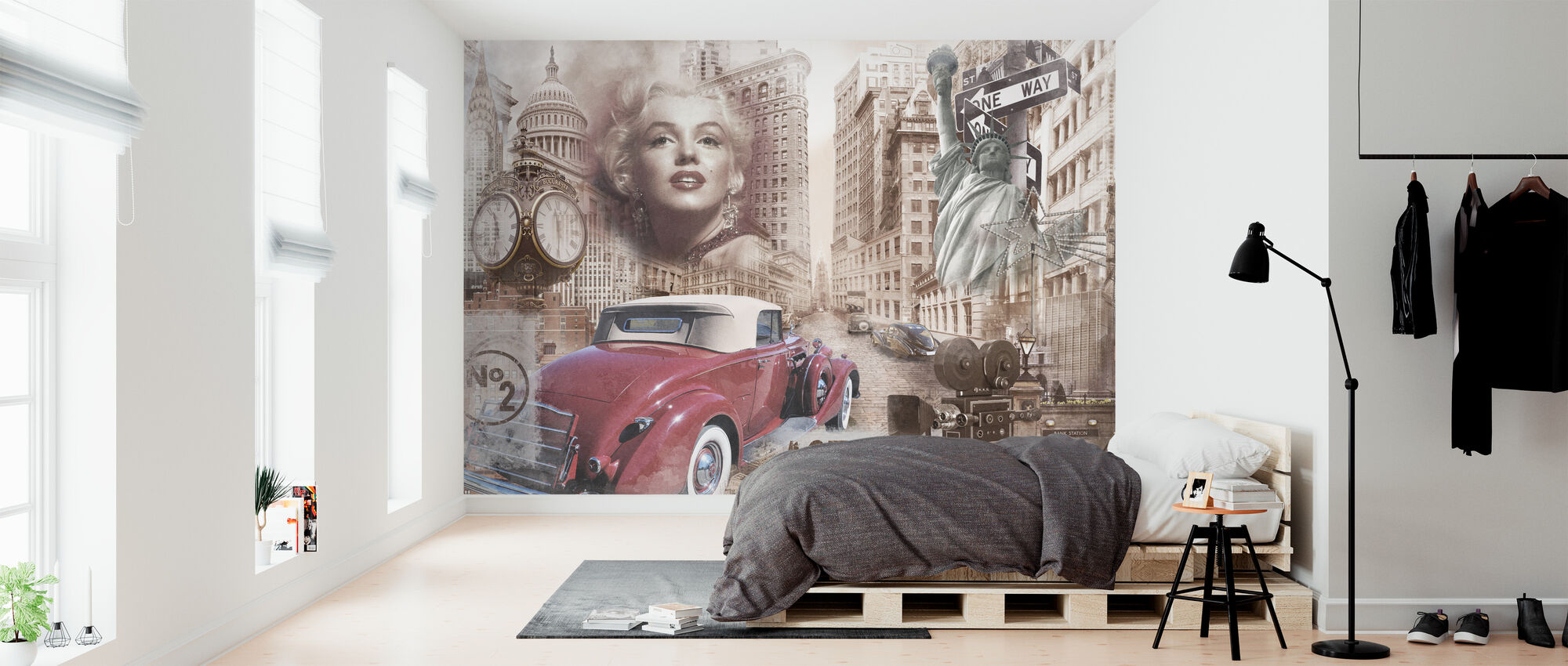 Wondrous Fifties - Wallpaper - Bedroom