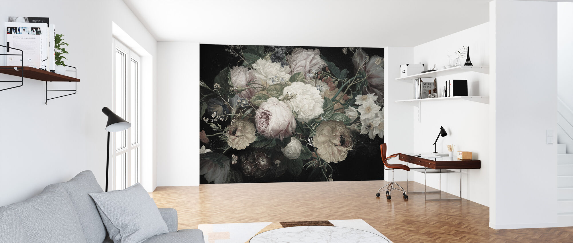 Bohemian Arrangement - Wallpaper - Office