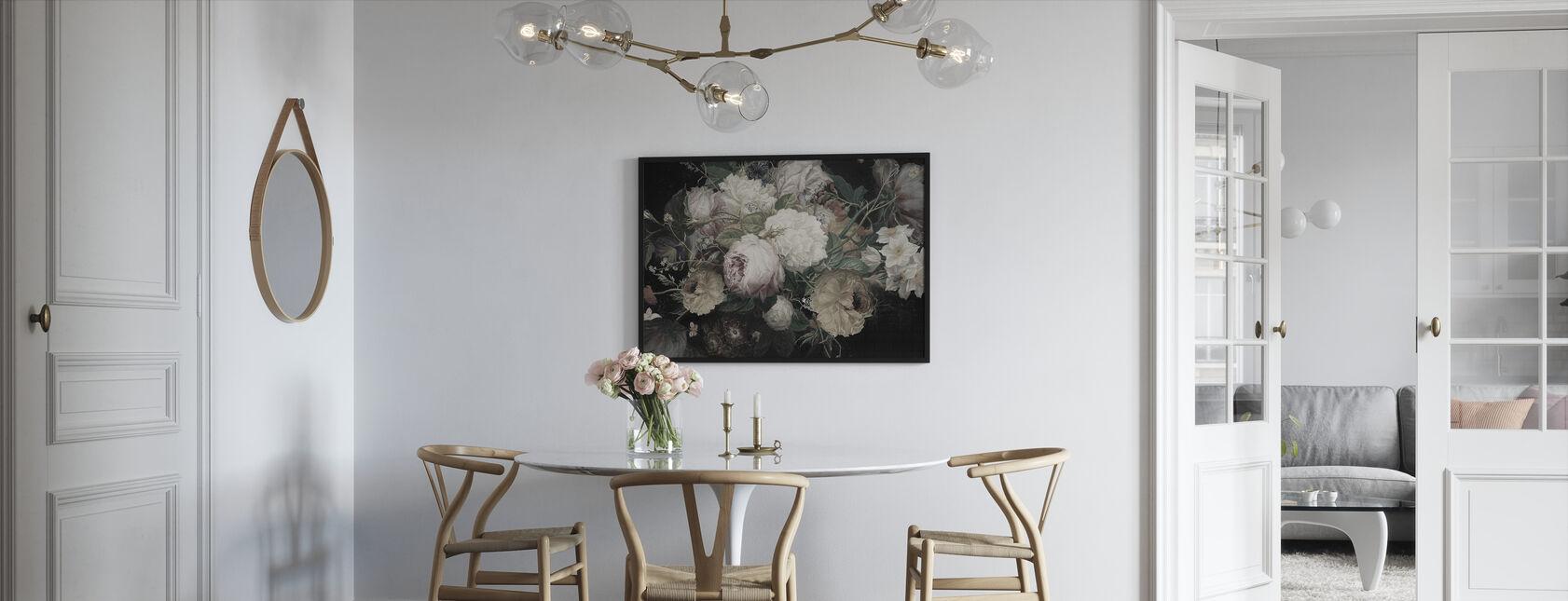 Bohemian Arrangement - Framed print - Kitchen
