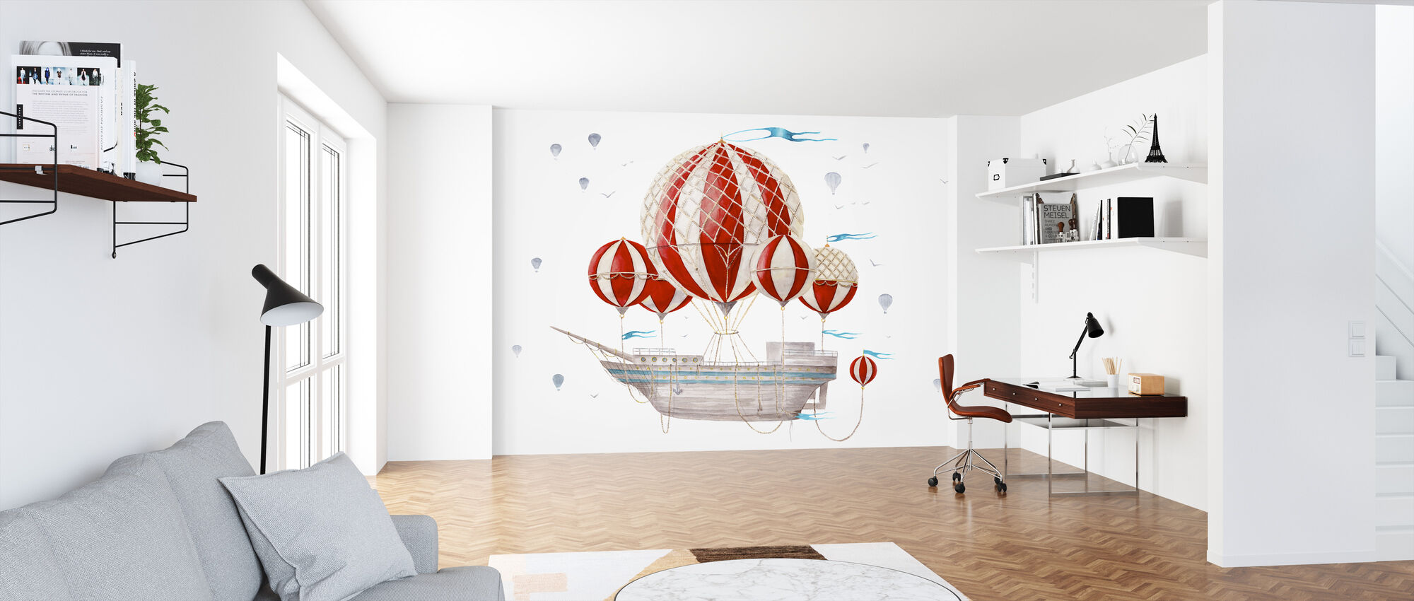Ship Comes Loaded - Wallpaper - Office