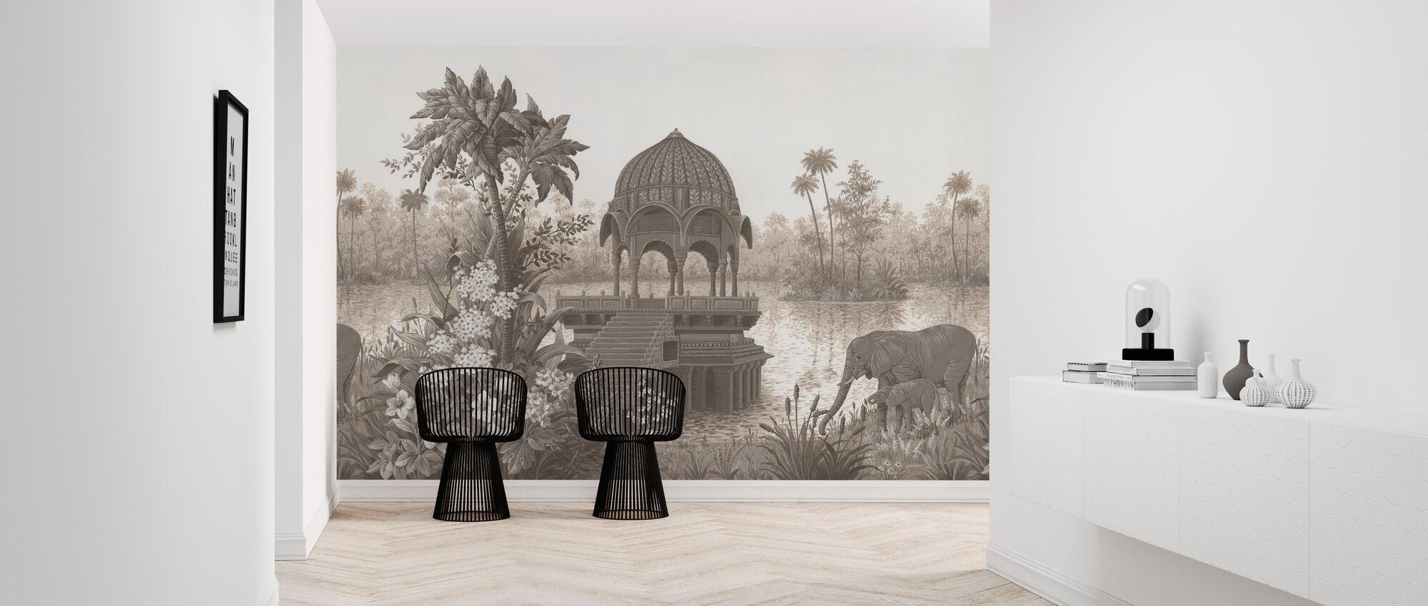 Tropical Habitat - Wallpaper - Hallway