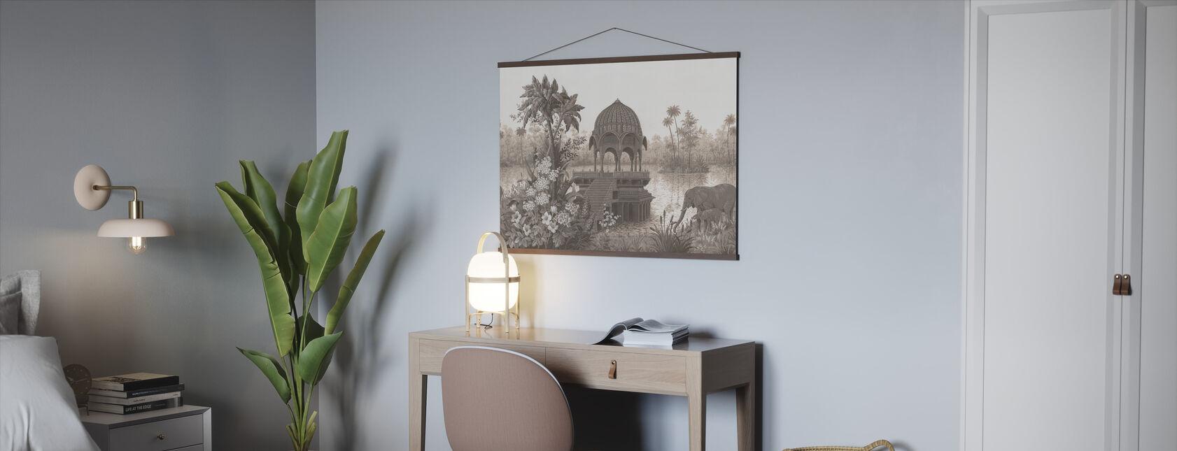 Tropische habitat - Poster - Kantoor