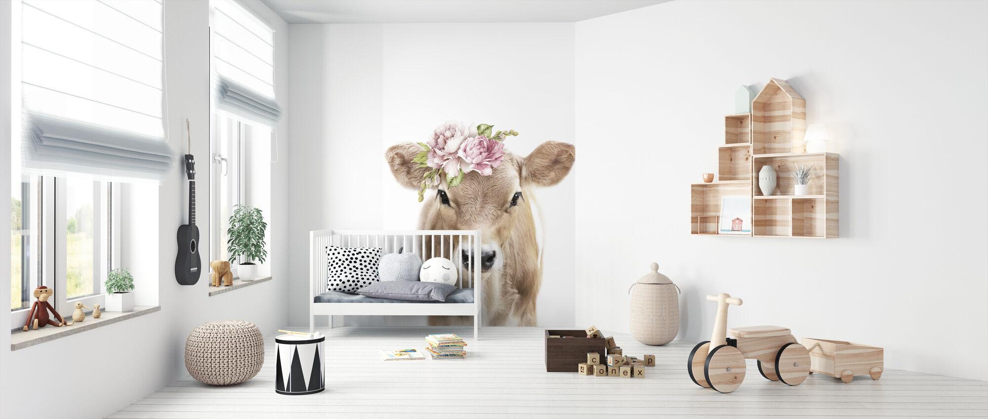 Floral Calf - Wallpaper - Nursery