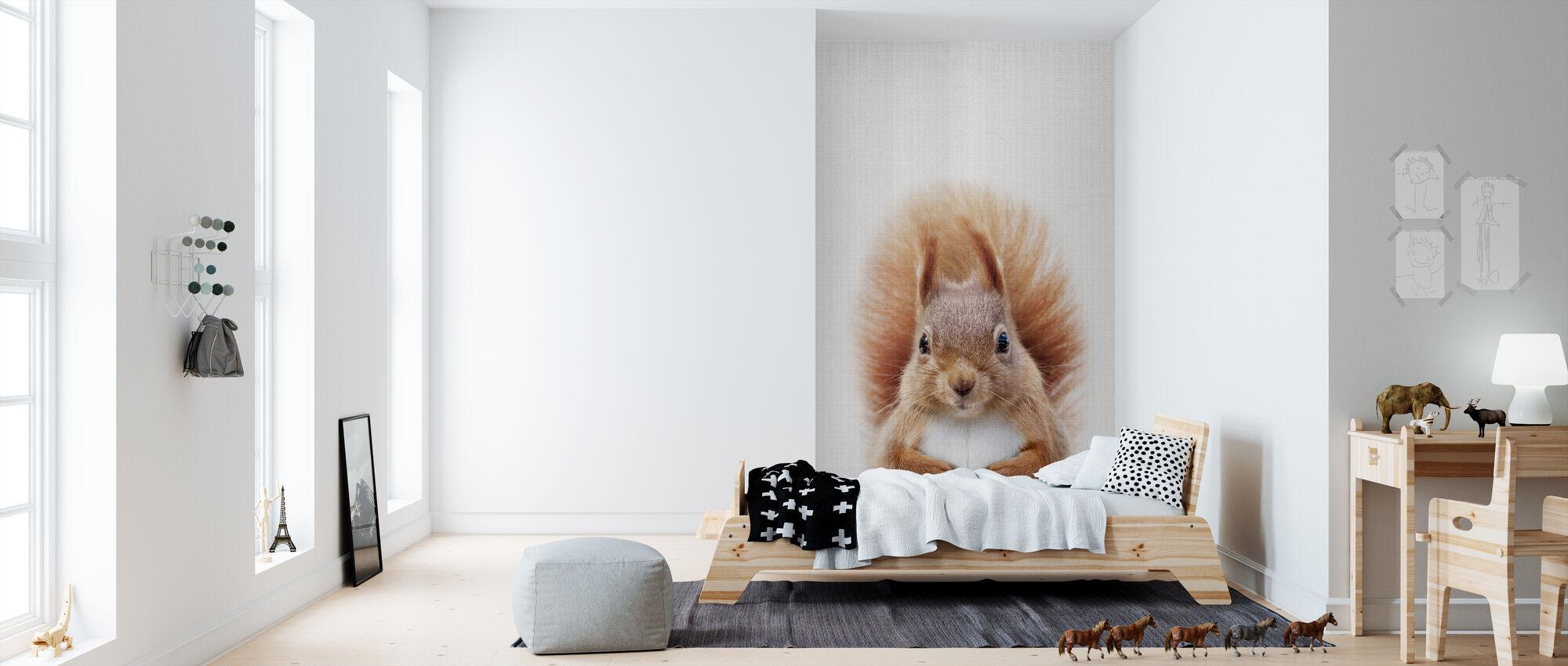 Squirrel - Wallpaper - Kids Room