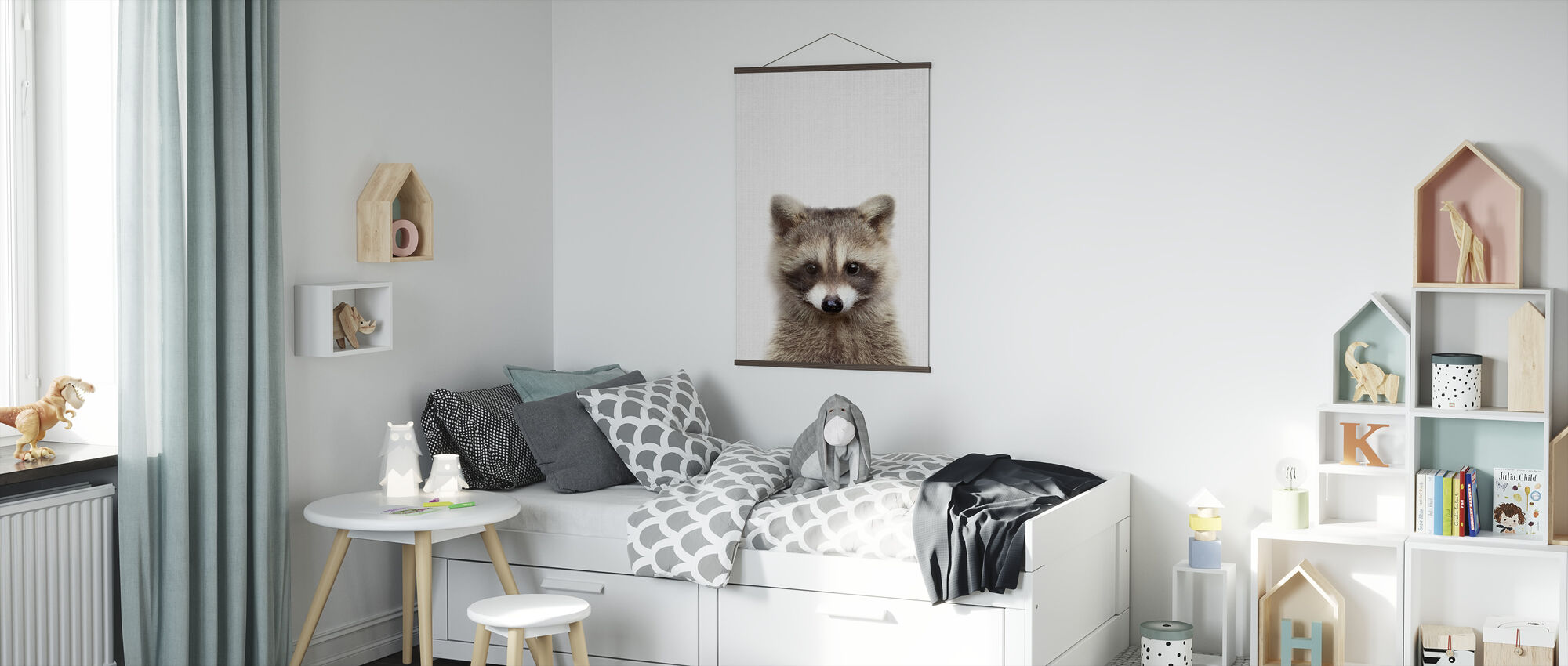 Raccoon - Poster - Kids Room