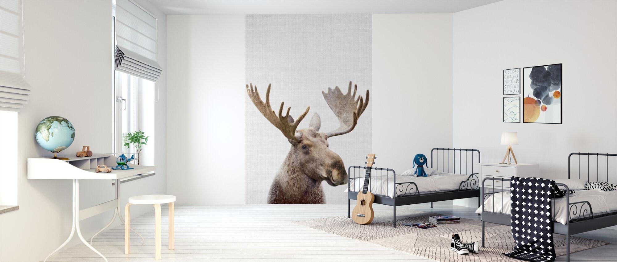 Moose - Wallpaper - Kids Room